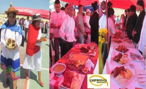 Internos demostraron arte culinario gastronómico