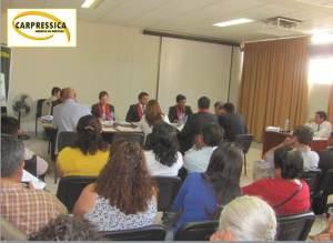 Sesión de consejo extraodinario en el gobierno regional, en Ica.